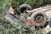 Cuatro personas resultaron heridas tras un violento vuelco en la Ruta Nacional 34