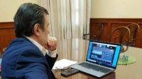 El Dr. Zamora mantuvo dos importantes reuniones con funcionarios nacionales
