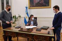 Con la firma de Sergio Massa, regresa la presencialidad a Diputados
