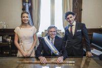 Bebés en el Palacio Presidencial: un hecho sin precedentes en la historia argentina