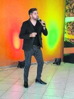 Diego Argañaraz Barros se presenta en el Club Social
