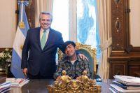 El Presidente recibió al joven wichi nominado para importante premio internacional