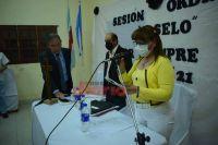 Juan Carlos Altamirano asumió como intendente de Campo Gallo en reemplazo de José Vittar