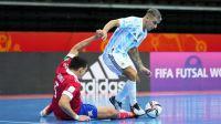 Futsal: La Selección Argentina pasó a Rusia en los penales y jugará con Brasil en semifinales