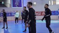 Messi celebró el triunfo del seleccionado de futsal