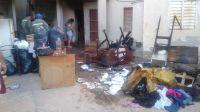 Barrio Ejército Argentino: un incendio consumió la vivienda de una familia