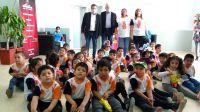 Alumnos del jardín N° 2 Mundo  Feliz visitaron el palacio municipal