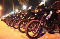 """Policías intervinieron en una """"batalla  campal"""" tras festejos por la primavera"""