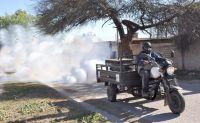 Las tareas de fumigación seguirán en los próximos días por los barrios