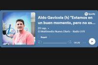 """Aldo Gavícola (h) """"No está descartada una tercera ola"""""""