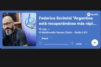 """Federico Scrimini """"Argentina está recuperándose más rápido que los países principales de Europa"""""""