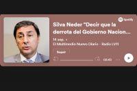 """Silva Neder """"Decir que la derrota del Gobierno Nacional fue por lo económico sería minimizarlo"""""""