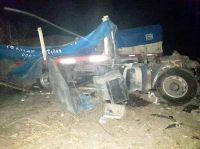 Un joven camionero santafesino murió en un choque en la Ruta 92