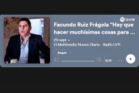 """Facundo Ruiz Frágola """"Hay que hacer muchísimas cosas para recomponer la democracia"""""""