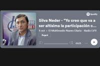 """Silva Neder """"Yo creo que va a ser altísima la participación como históricamente lo ha sido"""""""