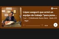 """López aseguró que armó un equipo de trabajo """"para ponernos a disposición del pueblo"""""""