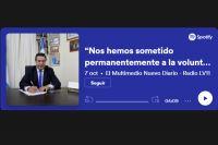 """""""Nos hemos sometido permanentemente a la voluntad popular"""", aseguró Herrera"""