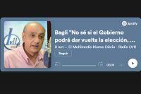 """Bagli """"No sé si el Gobierno podrá dar vuelta la elección, pero va a haber una remontada"""""""