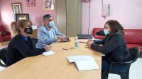 Importante reunión de trabajo entre la Municipalidad y el hogar de ancianos