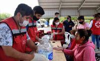 Continúan los operativos del  Ministerio de Salud y la Cruz Roja