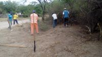 Intensifican los trabajos de limpieza y desmalezamiento en Los Quiroga