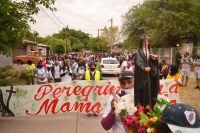 La cuarta peregrinación a Mama Antula reunió a cientos de fieles de la provincia