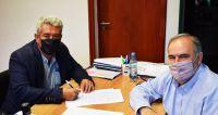 Importantes convenios para diversas mejoras en la localidad de Villa Salavina