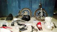 Las motos más robadas son las de baja cilindrada, especialmente de 110cc.