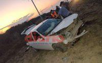 Ruta Nacional 34: automovilista y su madre resultaron heridos tras un vuelco