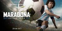 """Se conocieron el tráiler y el arte oficial de la bioserie """"Maradona: Sueño bendito"""""""