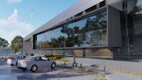 Imágenes de lo que serán las modernas instalaciones del Hospital en Pinto