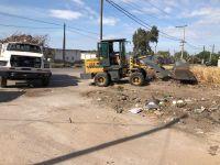 Realizaron operativos para erradicar dos basurales en el B° San Martín