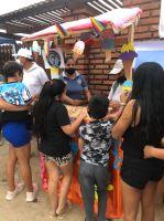 Brigada Solidaria traslada feria a los barrios para todos los niños loretanos