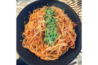 Salsa bolognesa y pesto