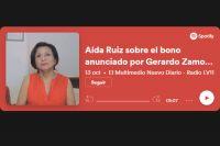 """Aída Ruiz sobre el bono anunciado por Gerardo Zamora: """"Ha marcado una revolución"""""""