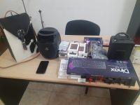 La Policía recuperó un bolso con accesorios de celulares y computadoras