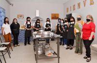 Habilitaron el Taller de Gastronomía para alumnos de la Escuela Municipal