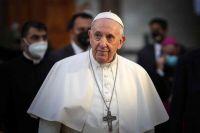 """Papa Francisco: """"No se puede vivir de subsidios, la dignidad la da el trabajo"""""""