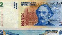Venden el billete de dos pesos con la cara de Mitre a 70 euros