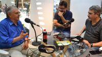 Juan Manuel Beltramino, visita de lujo en el stand del Multimedio en el CCB