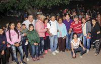 Mirolo visitó localidades del departamento Río Hondo