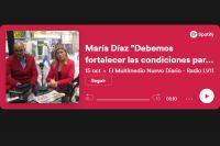 """María Díaz """"Debemos fortalecer las condiciones para que el alumno acceda a la educación superior"""""""