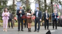 Zamora y Perczyk encabezaron el lanzamiento del programa La Escuela Escala Metas