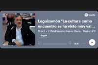 "Leguizamón ""La cultura como encuentro se ha visto muy valorizada"""