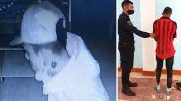 Un tucumano robó bebidas y cigarrillos en una despensa, y quedó filmado
