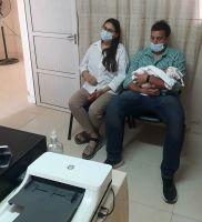 Amparo Lemoine fue la primera beba en recibir el acta de nacimiento digital