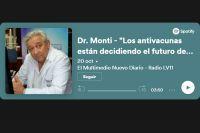 """Dr. Monti """"Los antivacunas están decidiendo el futuro de sus hijos, están hipotecando el futuro de su país"""""""