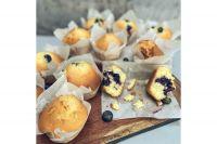Muffins de yogurt