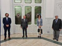La UIA mantuvo una reunión con el canciller Santiago Cafiero