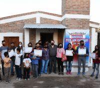 Entregaron viviendas sociales en el departamento Rio Hondo